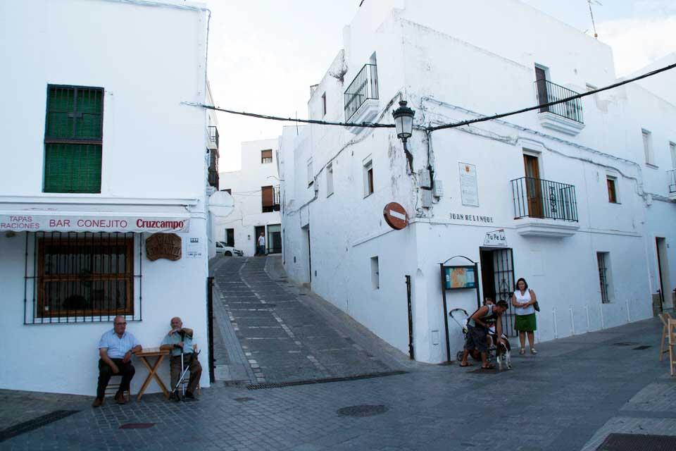 Calles de Vejer. El viaje me hizo a mí. Blog de viajes. Tarifa. Andalucía