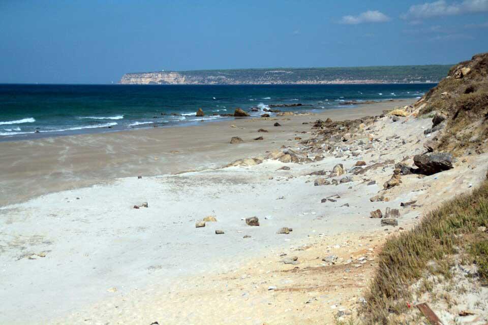 Playa militar. El viaje me hizo a mí. Blog de viajes. Tarifa. Andalucía