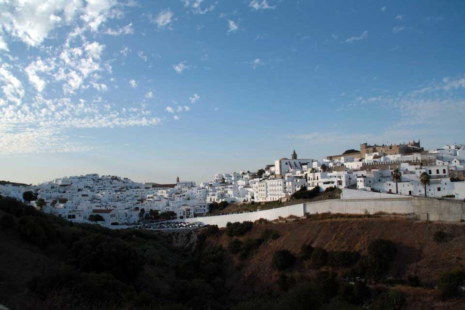 Panorámica de Vejer de la Frontera. El viaje me hizo a mí. Blog de viajes. Tarifa. Andalucía