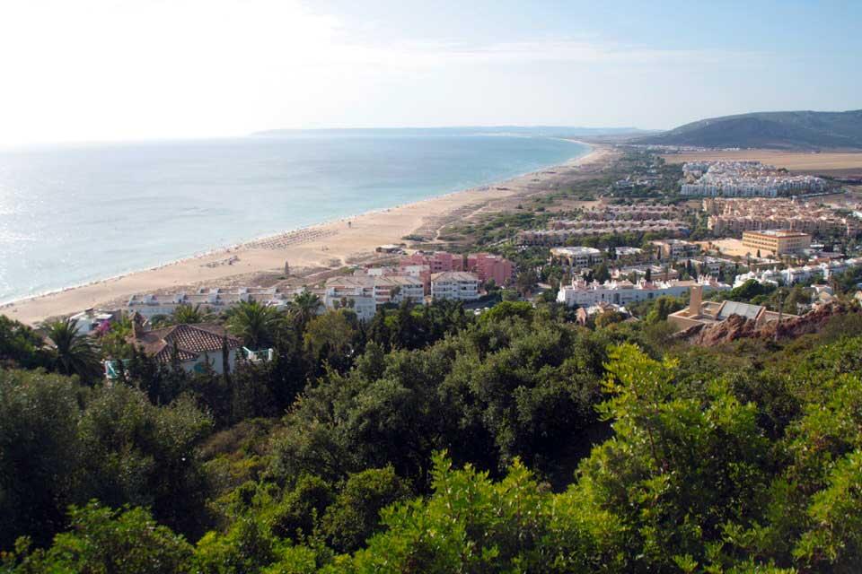Vista de Zahara desde Atlanterra. El viaje me hizo a mí. Blog de viajes. Tarifa. Andalucía