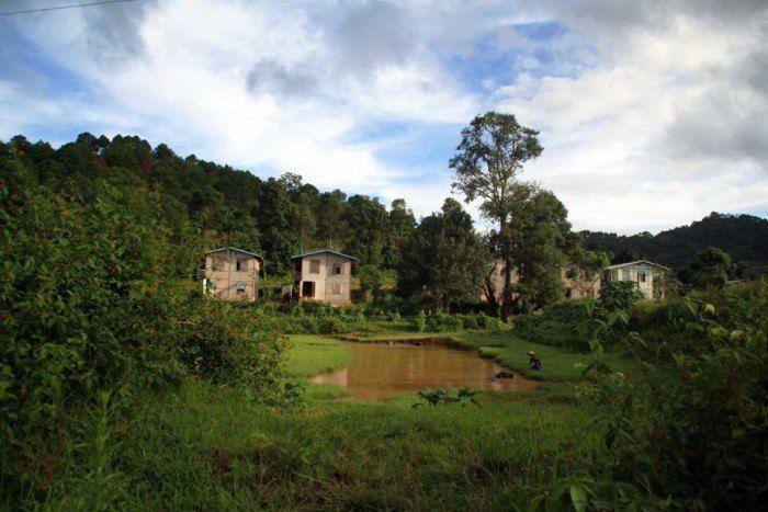 paisaje de Myanamar