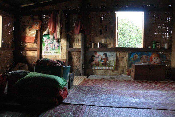 Una de nuestras habitaciones del treking