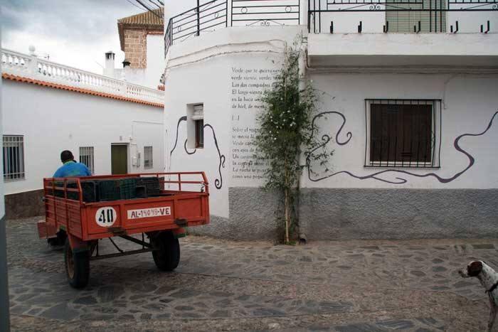 Pueblo típico de la Alpujarra. Granada. Andalucía. El viaje me hizo a mí. Blog de viajes