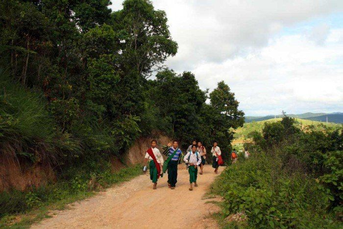 treking por Myanamar