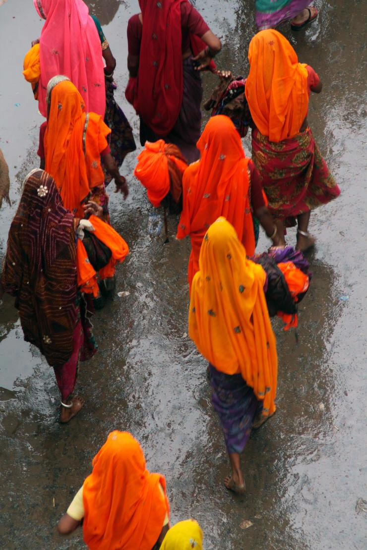 una ceremonia en Pushkar