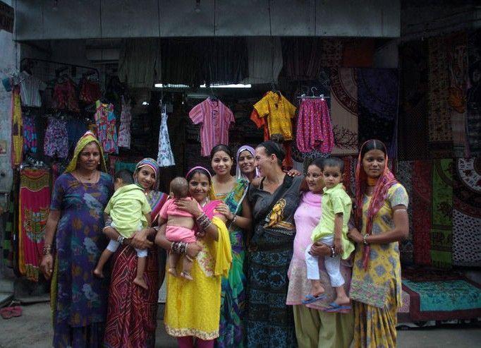 Mujeres en Pushkar