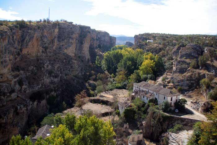 Panorámica desde Alhama de Granada