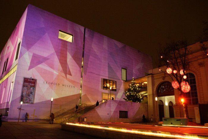 bar del Leopold Museum