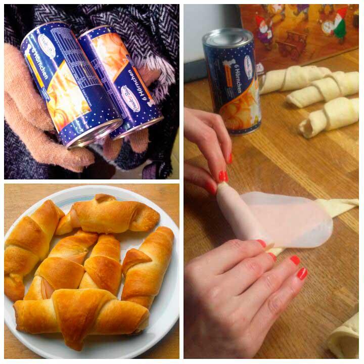 Croissants en lata