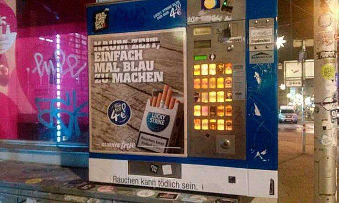 Máquinas de tabaco en Viena. Austria. El viaje me hizo a mi. Blog de viajes
