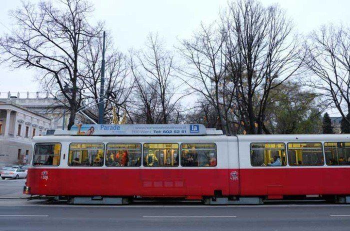 Tranvia de Viena. El viaje me hizo a mi. Blog de viajes. Consejos para ahorrar