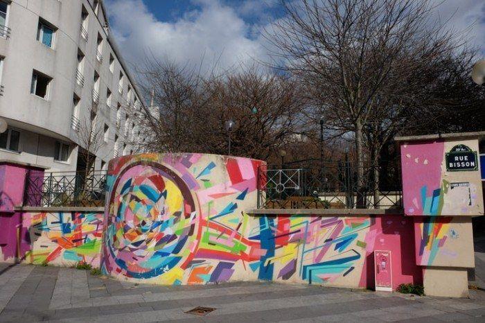 Grafiteros por Bellevile