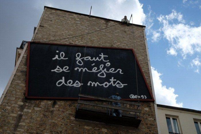 Arte urbano en Belleville