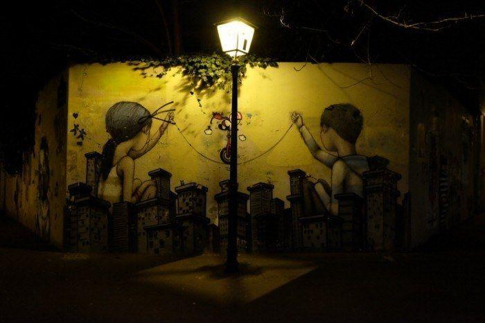 Grafitis de París