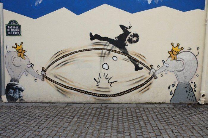 arte urbano de París