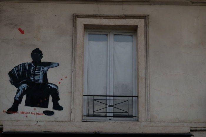Música callejera en París