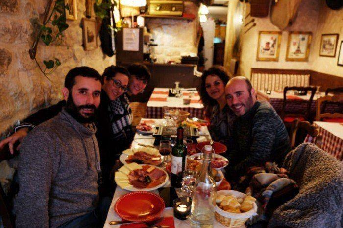 El Vieux Bristot. Comer en Paris. Viajar en pareja. Gastronomia francesa. El viaje me hizo a mi