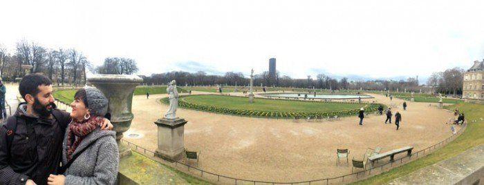 Jardines de Luxemburgo. Paris. Viajar en pareja. El viaje me hizo a mi. Blog de viajes