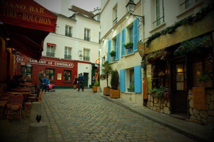 Locales en Montmartre