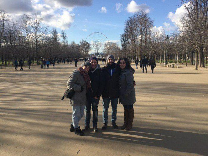 Paseíto por los Campos Elíseos. El viaje me hizo a mi. Blog de viajes. Viajar en pareja. Paris