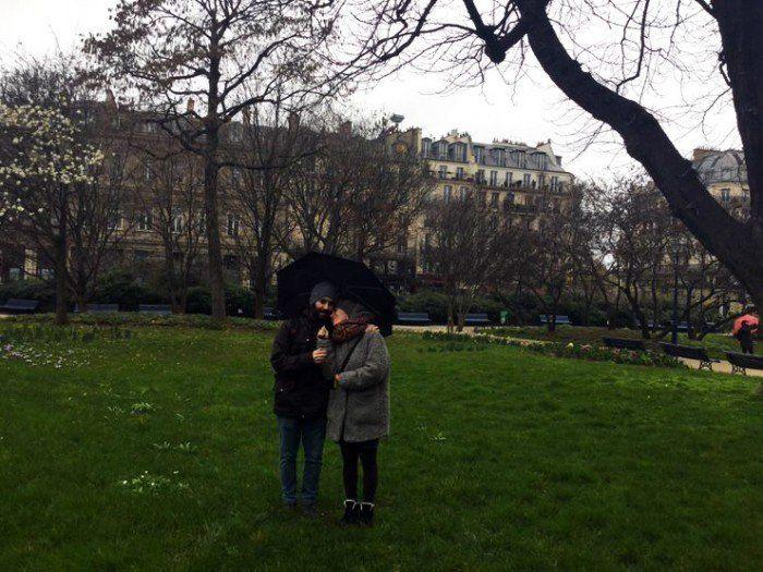 Lugares románticos en París