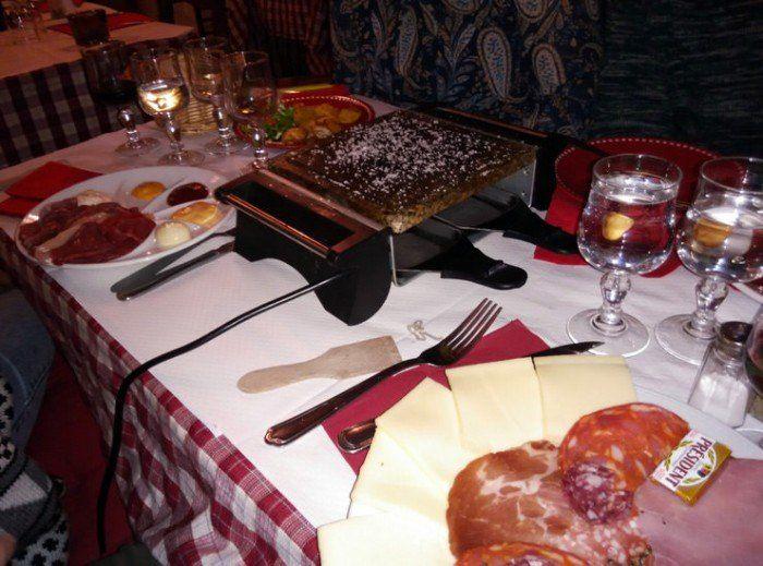 Raclette y Pierrade