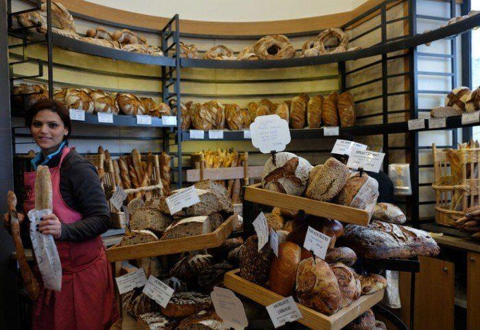 tipos de pan francés