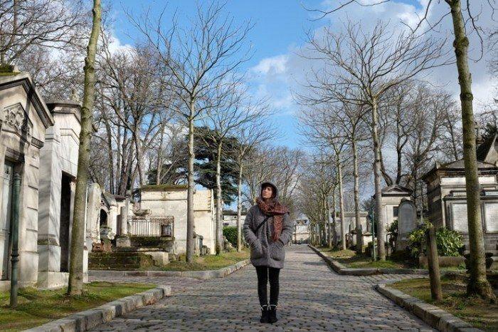 Un cementerio parecido a un parque