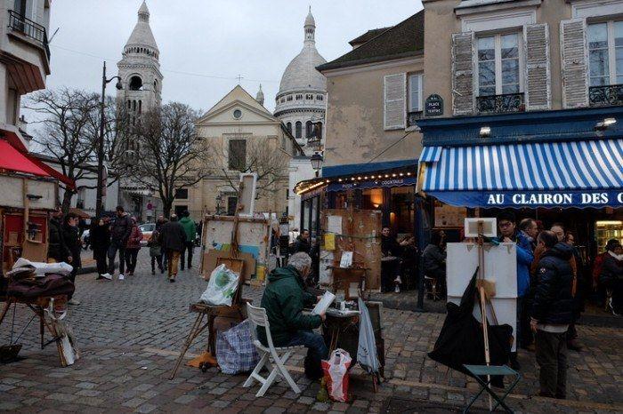 Montmartre es uno de los barrios más pintorescos de Paris.