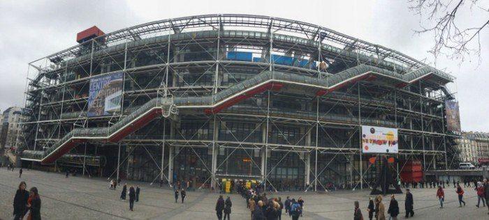 Museo Pompidou en Paris