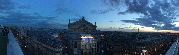 Panorámica de Paris desde las Galerías Lafayette. Paris. El viaje me hizo a mi. Blog de viajes