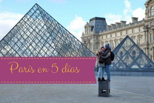 Visita París en 5 días y aprovecha la ciudad al máximo