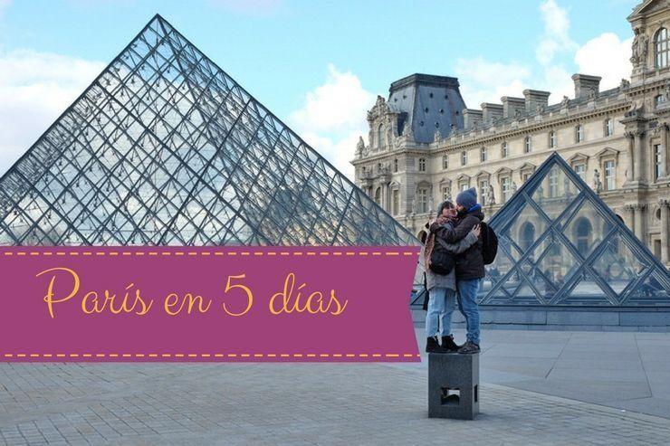 Visitar París en 5 días