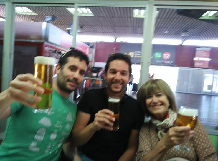 Con Concha y Javi