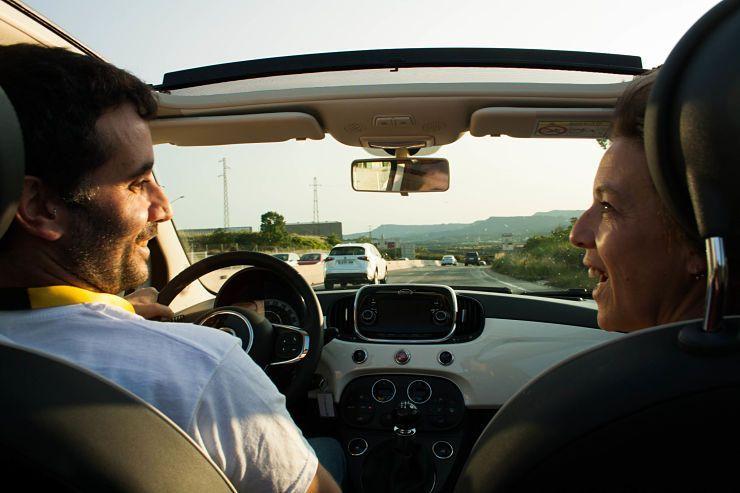 Vuelta en el coche