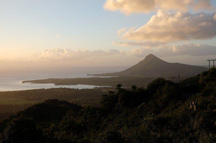 Atardecer en Isla Mauricio