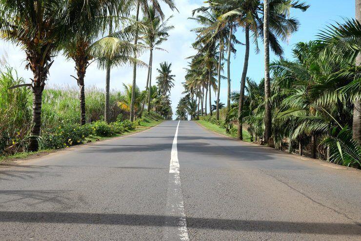 carretera de Isla Mauricio