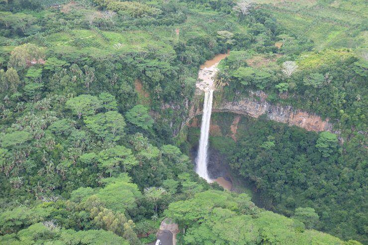 Cascada de Chamarel. El viaje me hizo a mi