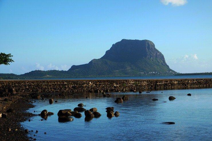 Le Morne Bravant en Mauricio. El viaje me hizo a mi