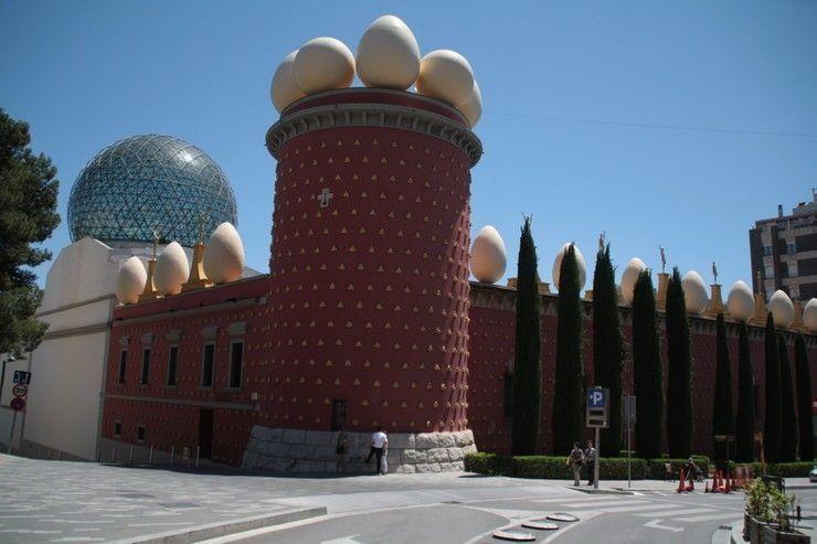 Museos Dalí en Figueres. Recomendable cien por cien. Consejos para ahorrar viajando