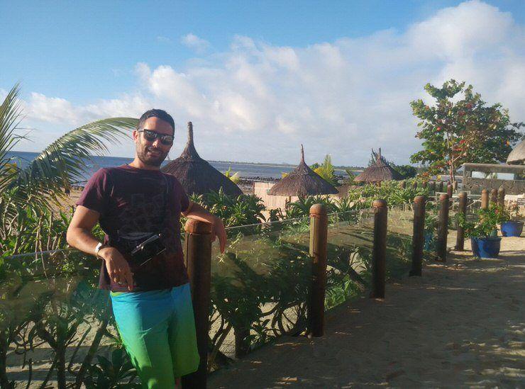 Isla Mauricio Mochilero