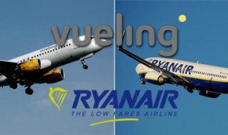 Comparativa a fondo entre Vueling y Ryanair y ayuda para volar con ellas
