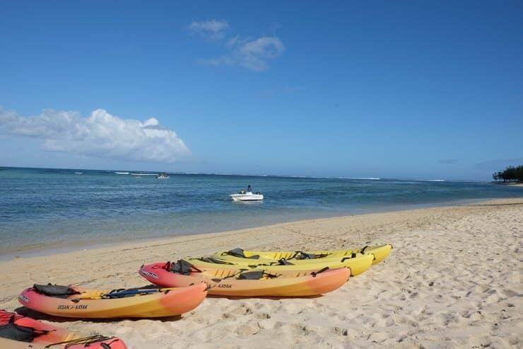 Actividades acuáticas Mauricio