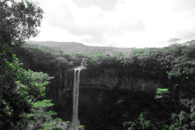 Cascada de Chamarel 2. . El viaje me hizo a mí