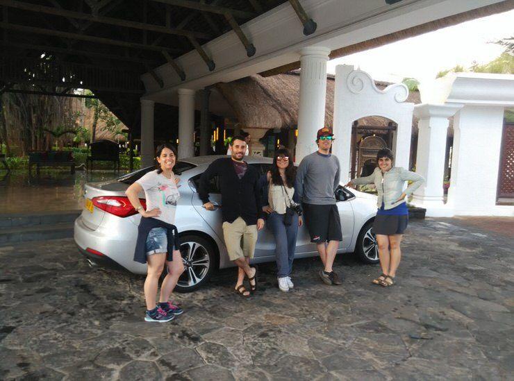 alquiler coche Mauricio