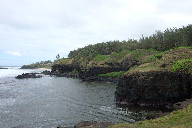 Por la Roca que llora. Isla MauricioMauricio.