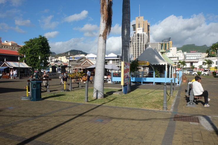 Post Louis. Isla Mauricio.