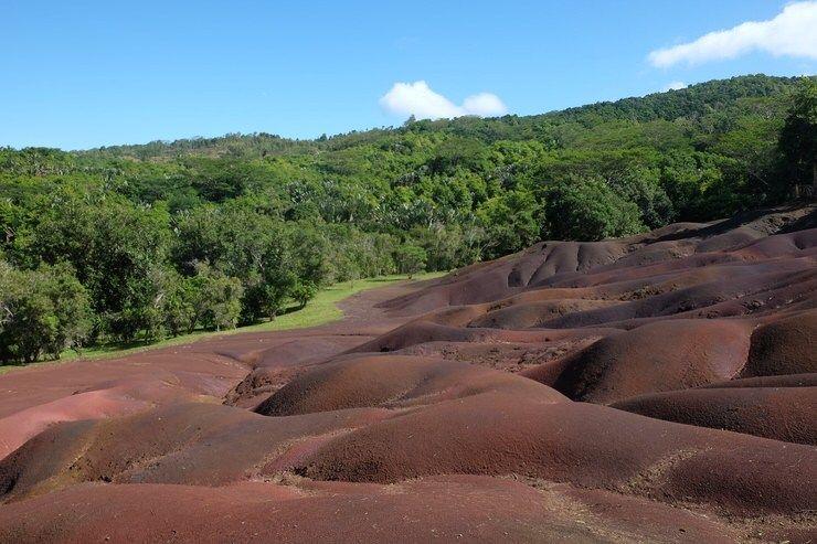 Tierra de los 7 colores. Isla Mauricio. El viaje me hizo a mi