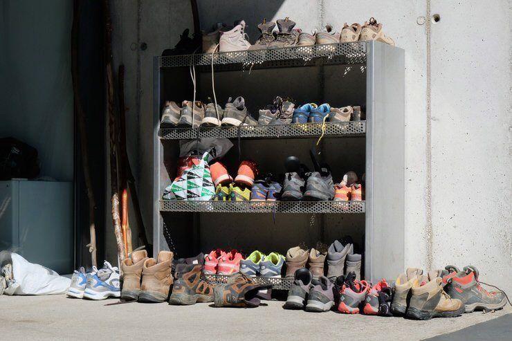 Las botas de los peregrinos. Consejos para hacer el camino se Santiago