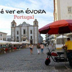 que ver en Evora